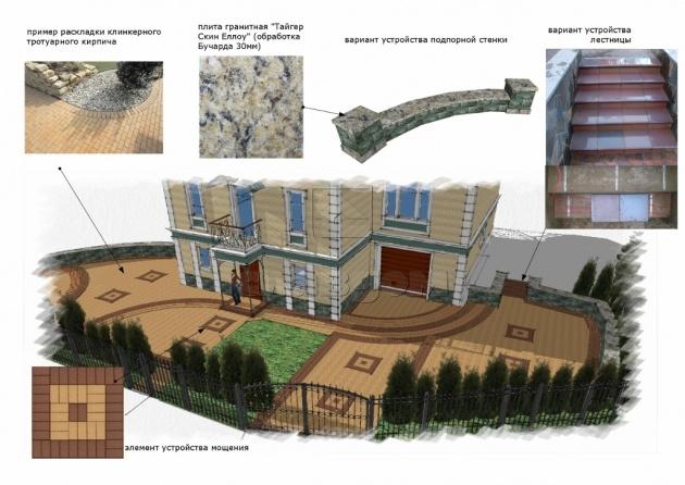 Конкурсный проект Марины Александровой. Изображение с сайта slav-dom.ru
