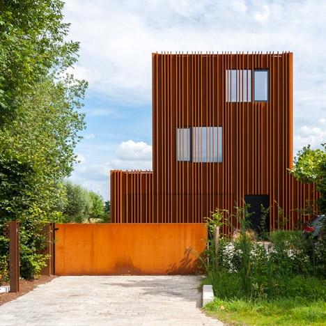 Дом в пригороде Антверпена © Luc Roymans