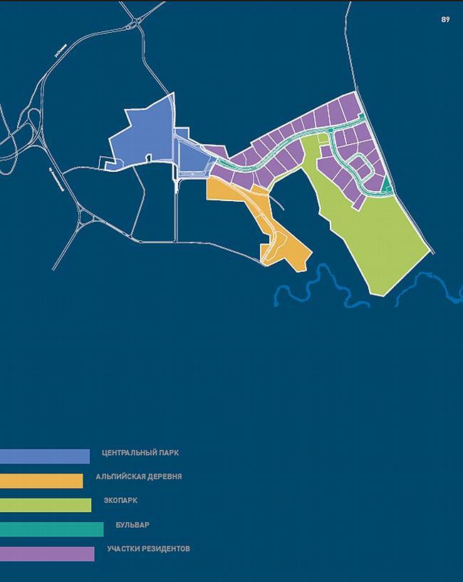 Схема благоустройства и озеленения территории