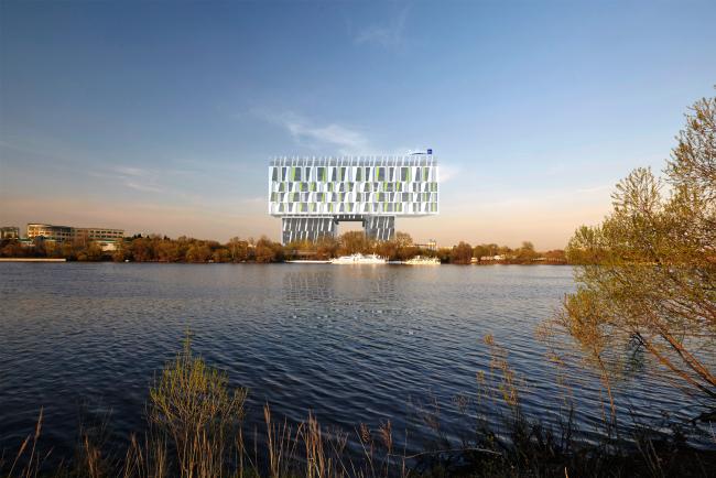RADISSON BLU MOSCOW RIVERSIDE HOTEL&SPA © Asadov Architectural Bureau; GrandProjectCity; Polyansky Institute of Architecture