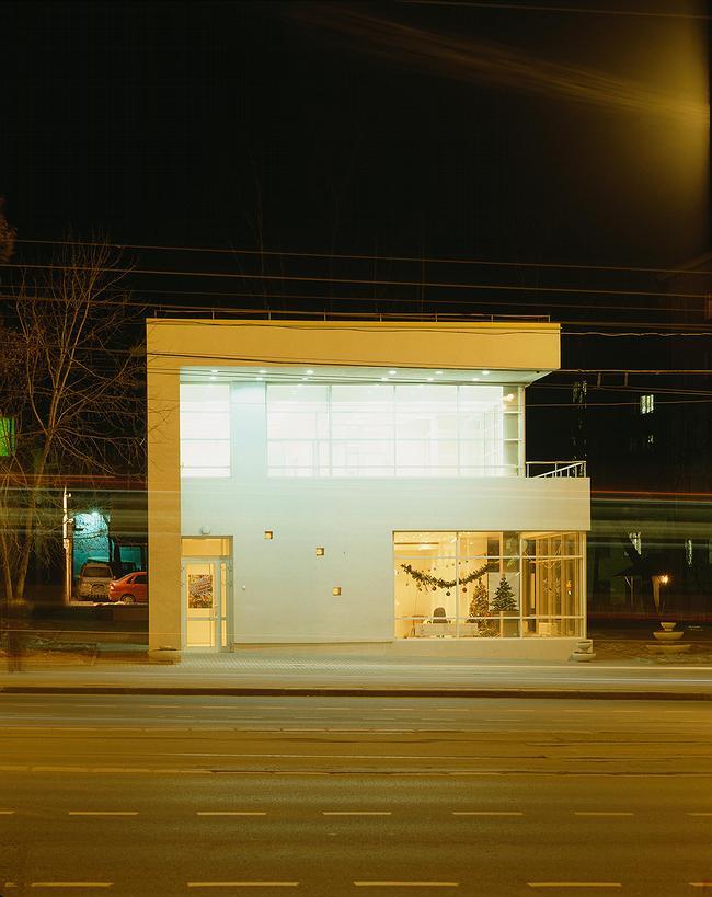 Магазин с кафе на улице Стромынка («Рафинад»). Фотография © Алексей Народицкий