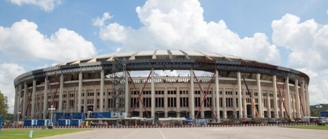 Реконструкция стадиона «Лужники». Фото предоставлено компанией Rockwool