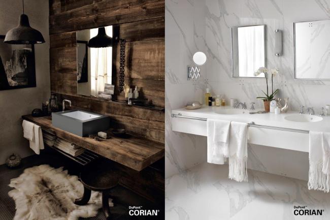 Изображения предоставлены компанией DuPont™ Corian®