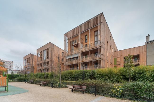 Жилой комплекс на улице Оври © Christophe Demonfaucon