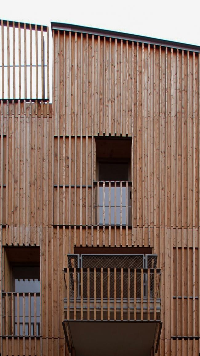 Жилой комплекс на улице Оври © Lucile Chombart de Lauwe