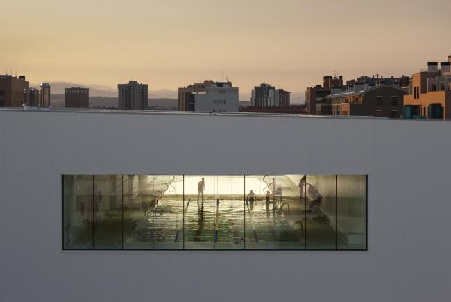 Общественный центр района Сальбуруа © Aitor Ortiz