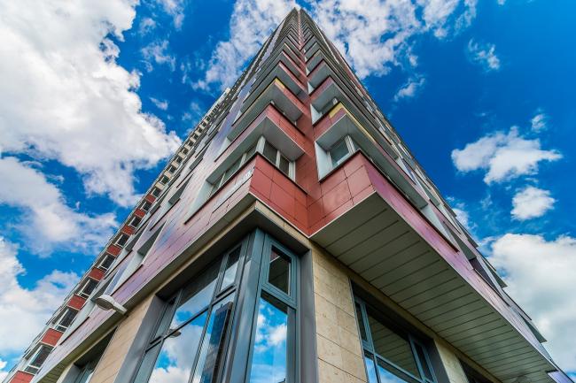 """""""Klever"""" residential building © """"A.Len"""" Architectural Bureau"""