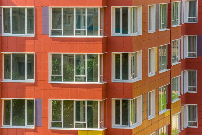 Жилой дом «Клевер» © Архитектурное бюро «А.Лен»