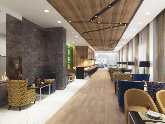 Отель Hilton Garden Inn Ufa Riverside. Фото предоставлено компанией Rockwool