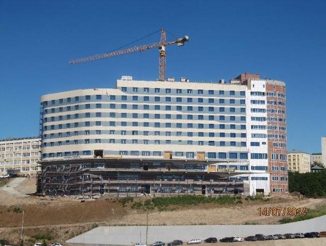 Отель Hilton Garden Inn Ufa Riverside. Фото: kesco.ru