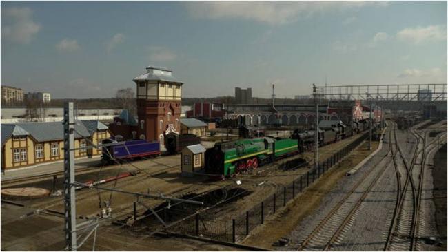 Проект «Моторвагонное депо станции Подмосковная» © компания ОАО РЖД