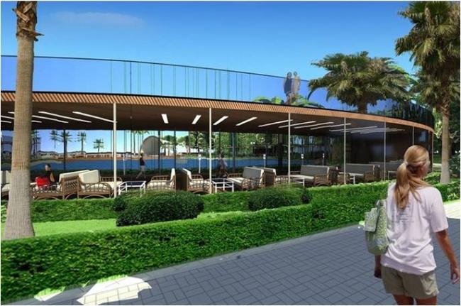 Проект «Благоустройство парковой зоны «ГАГРИПШ» г. Гагры, Республика Абхазия. Автор проекта – архитектор Денис Мажаров