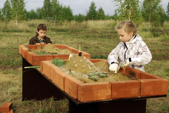 Фестиваль «Эко_тектоника». Детские мастер-классы. Фотография Дмитрия Павликова