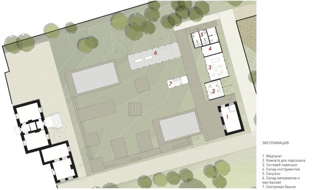 Городская ферма на ВДНХ. Площадка DIY. План. 2 очередь © WOWhaus