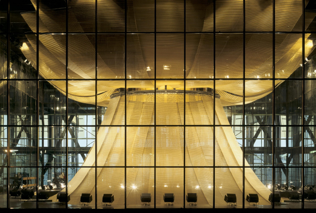 Европейский суд в Люксембурге. 2008 © Georges Fessy / Dominique Perrault Architecture / Adagp