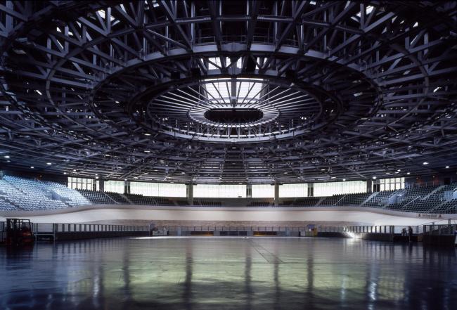 Велодром и Олимпийский бассейн. Берлин, 1999 Европейский суд в Люксембурге. 2008 © Georges Fessy / Dominique Perrault Architecture / Adagp