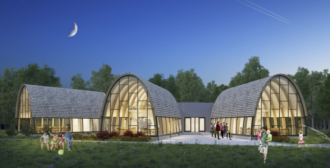 Workshops. Urban farm at VDNKh, 2nd phase, project © WOWhaus