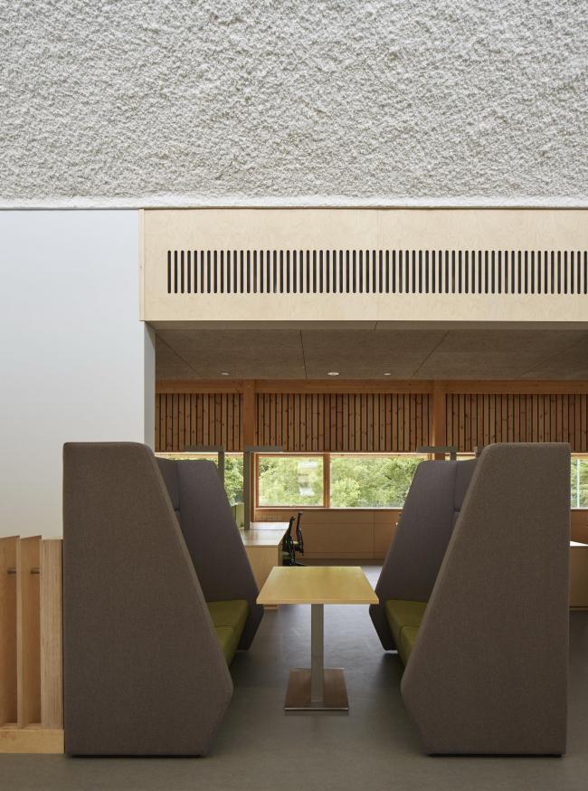 Центр предпринимательства Университета Восточной Англии © Dennis Gilbert/VIEW