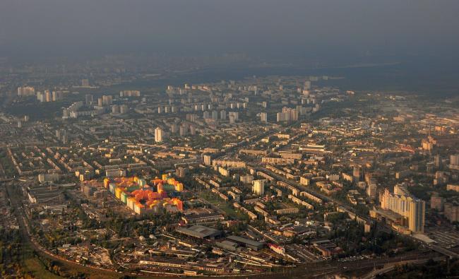 Жилой квартал «Комфорт-таун». Постройка, 2015