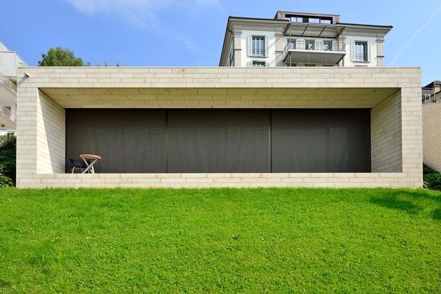 Четыре виллы на Брухштрассе. Фотография предоставлена Solnhofen Stone Group