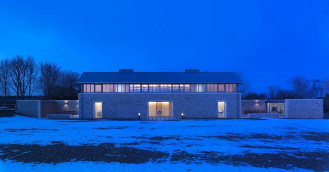 «Длинный дом» в Норфолке © Charles Hosea