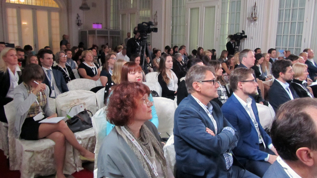 Конференция МУФ в Петербурге, 2015. Фотография © Елена Чернова