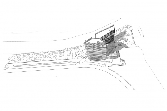 "Contest project of Radisson Blu Moscow Riverside Hotel&SPA © ""A.Len"" architectural studio"