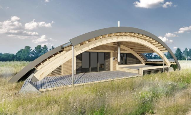 Жилой дом Hobbit Hall © Архитектурное бюро Романа Леонидова