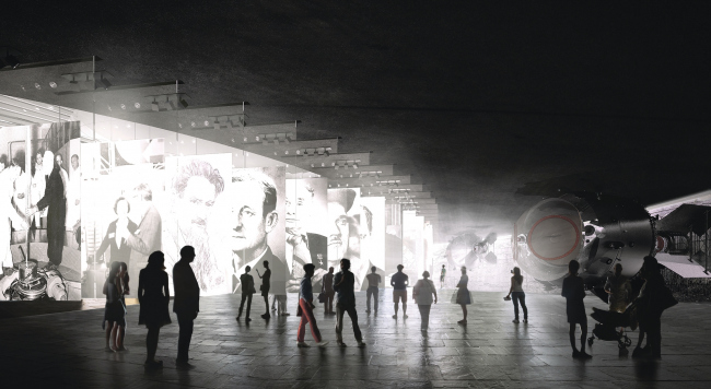 """""""Rosatom"""" pavillion at VDNKh. Interior © UNK project"""