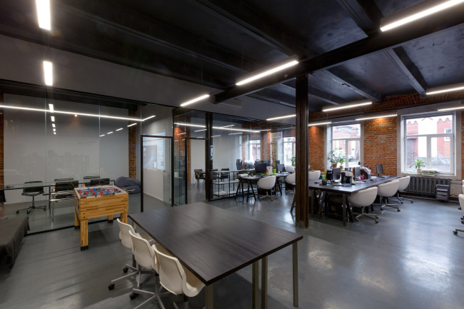 Arch Group HQ at Byelorusskaya © Arch group