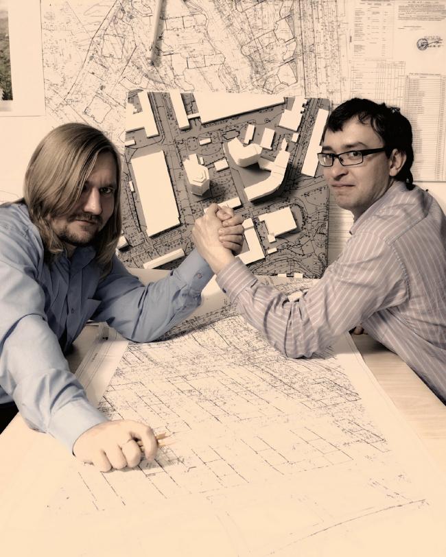 Alexander Popov and Dmitry Vasilyev © Archimatika
