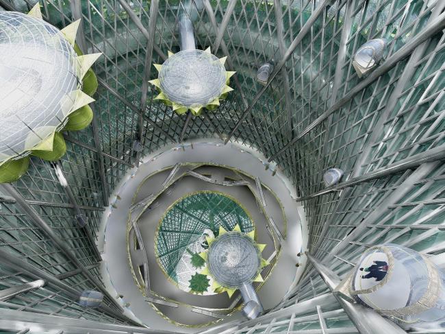 """Pisanka"" multifunctional complex. Interior. Project © Archimatika"