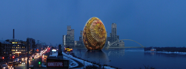 """Pisanka"" multifunctional complex. Project © Archimatika"