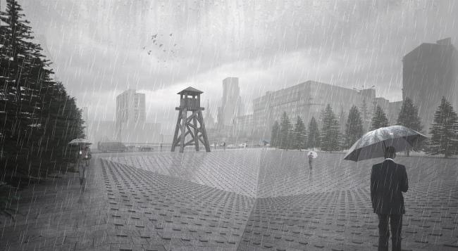 Проект мемориала жертвам политических репрессий на проспекте Сахарова