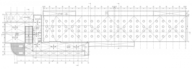 Research and Development center in Skolkovo. Plan of the roof © ABD architects