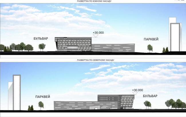 Научно-технический центр в Сколково. Фасады © ABD architects