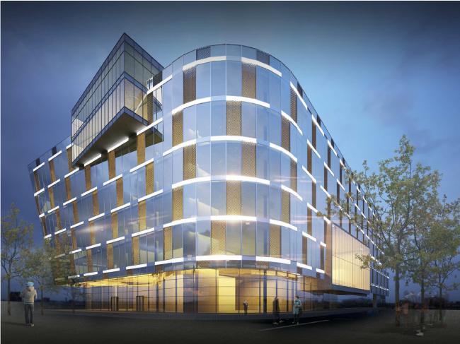Research and Development center in Skolkovo © ABD architects