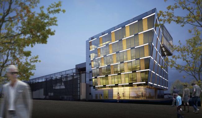 Научно-технический центр в Сколково © ABD architects
