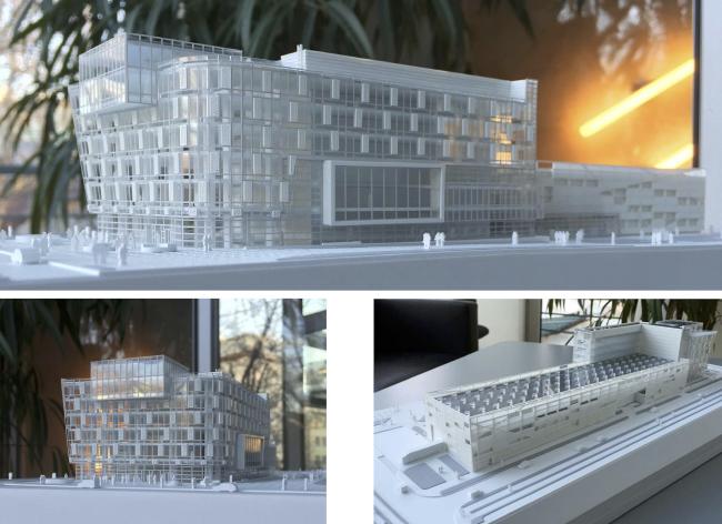 Research and Development center in Skolkovo. Model © ABD architects