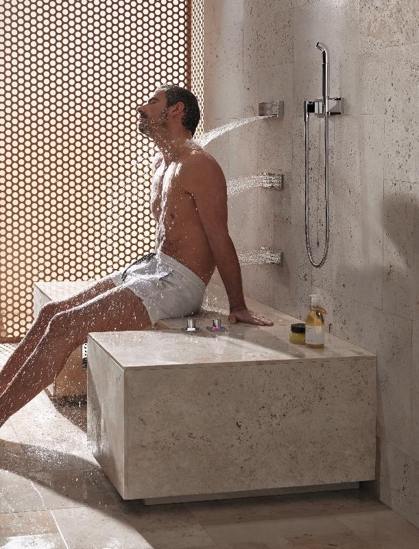 Comfort Shower & Leg Shower © Dornbracht
