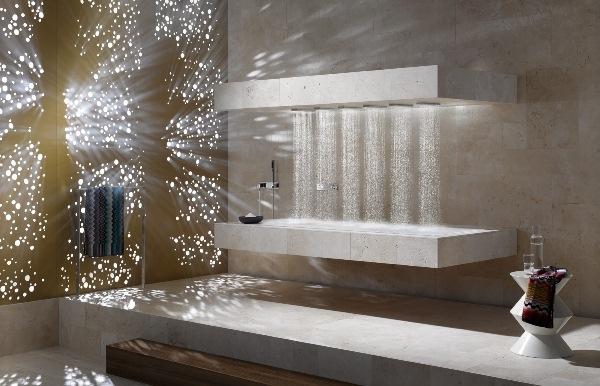 Horizontal Shower © Dornbracht