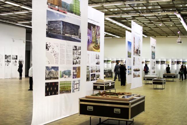 Экспозиция «Новые индустрии». «Зодчество 2015». Фотография © Юлия Тарабарина, Архи.ру