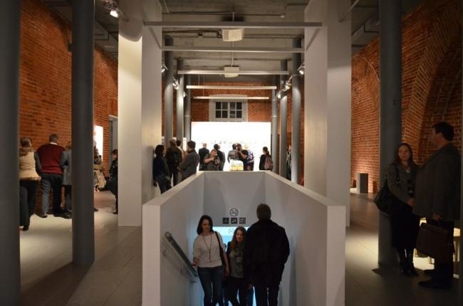 Выставочное пространство «Арсенала». Фотография Елены Петуховой