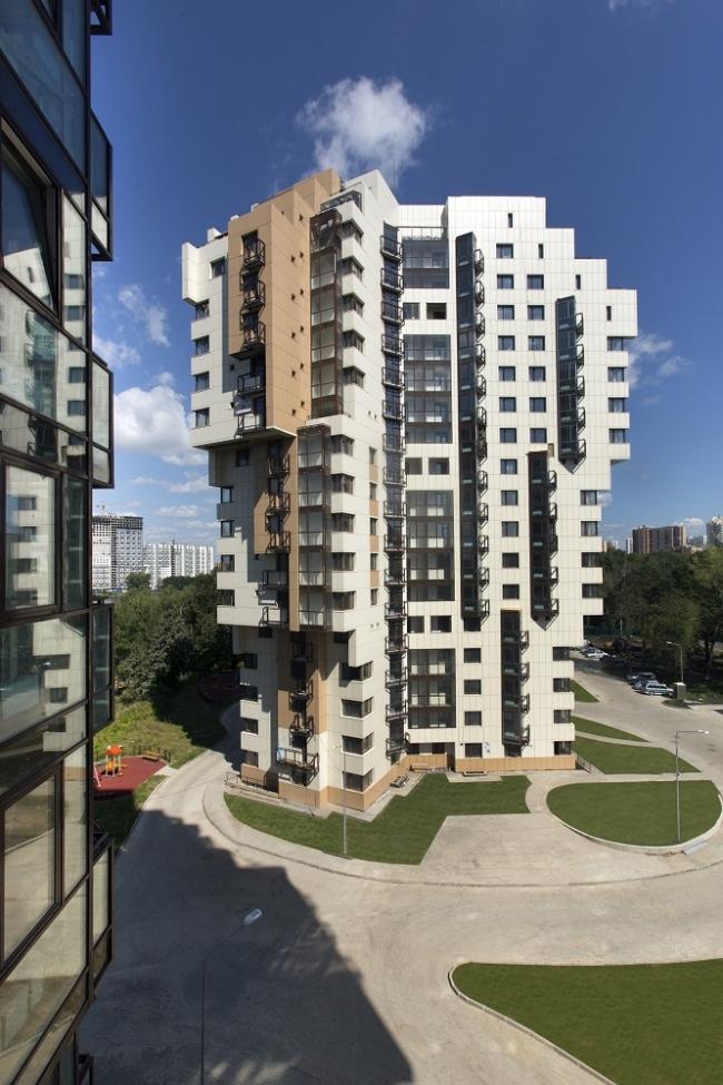 Многоквартирные жилые дома в Химках © Мастерская Виктора Логвинова