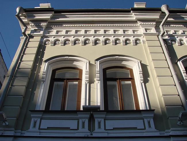 Двухэтажный доходный дом (М. Дмитровка, 7). Реставратор Григорий Мудров (МАРСС)