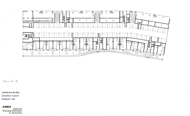 Жилой комплекс Bassins à flot  © ANMA – Agence Nicolas Michelin & Associés