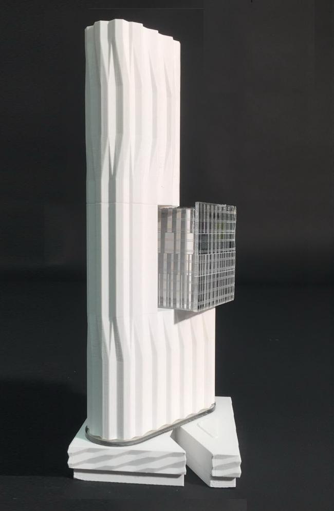 Башня на территории бывшего завода ЗИЛ © Asymptote – Hani Rashid & Lise Anne Couture