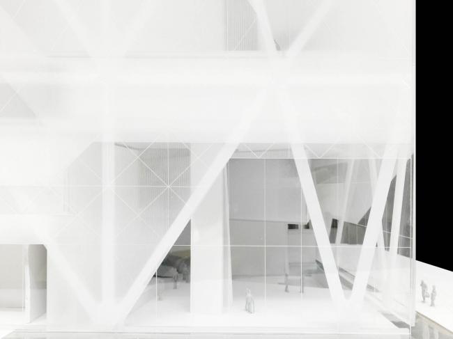 Филиал Государственного Эрмитажа на территории бывшего завода ЗИЛ © Asymptote – Hani Rashid & Lise Anne Couture