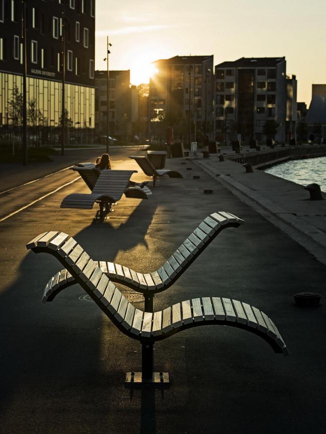 Вторая очередь реконструкции порта Ольборга © Jørgen True