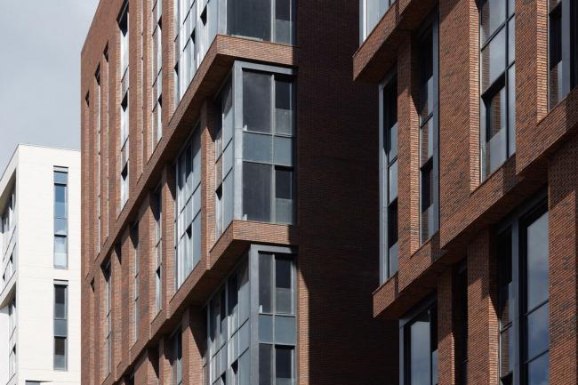 Многофункциональный жилой комплекс «Садовые кварталы» в Хамовниках. Фотография © Михаил Розанов